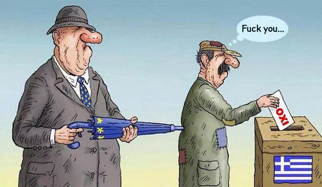 Greece Oxi Vote